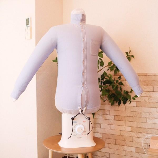 【12月特価品】【送料無料】サンコー シワを伸ばす乾燥機 アイロンいら~ず2 TKNICLOS 衣類 乾燥機 ハンガー型アイロン シャツ乾燥機