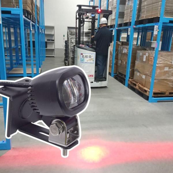 【送料無料】サンコー フォークリフトセーフティLEDレーザー 防水LEDライト IP67 SFLSLEDL 事故防止 警告灯 LEDラインライト