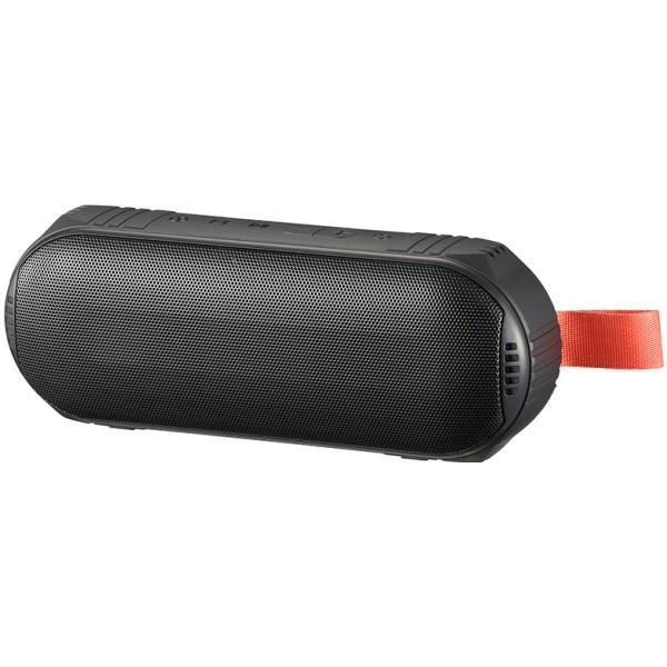 【送料無料】Bluetooth ワイヤレスステレオスピーカー 防水IPX6 ブラック AudioComm OHM 03-2193 ASP-W350N モバイル コンパクト ポータブル スピーカー