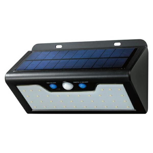 【送料無料】ELPA 屋外用LEDセンサーウォールライト ソーラー式 白色 ESL-K411SLW 防水 防犯 人感センサー セキュリティ エルパ