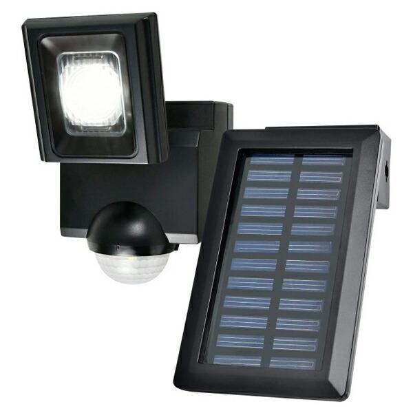 【送料無料】ELPA 屋外用LEDセンサーライト ソーラー式 ESL-N111SL 防雨 防犯 人感センサー セキュリティ エルパ