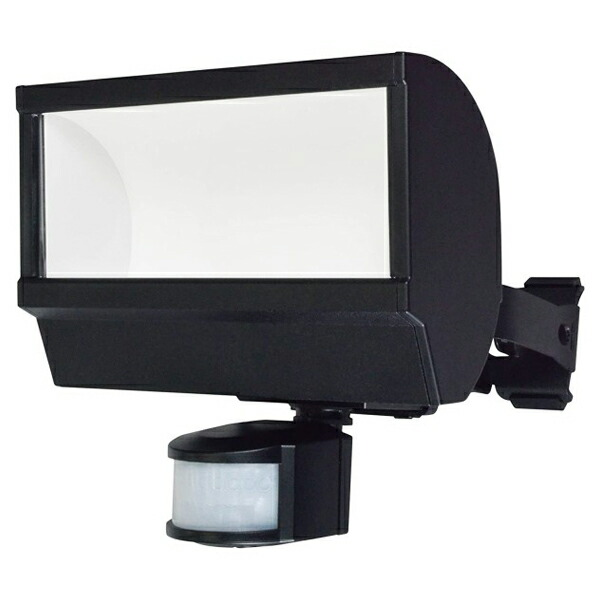 【送料無料】ELPA 屋外用LEDセンサーライト 1000ルーメン 広配光 ESL-W2001AC 防雨 防犯 人感センサー セキュリティ エルパ