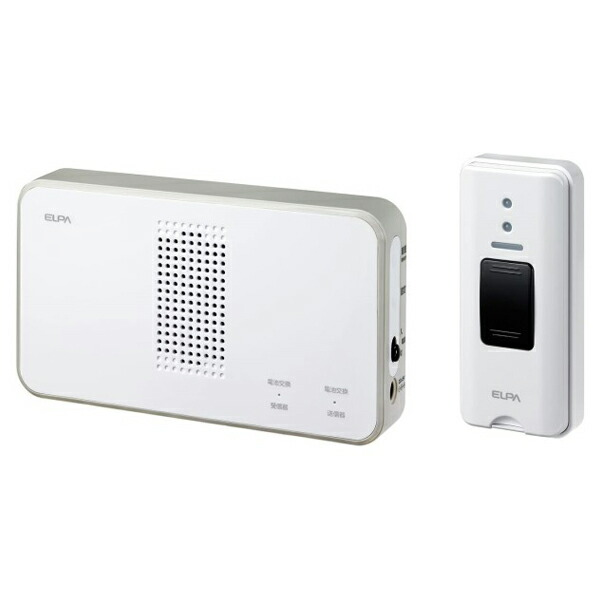 【送料無料】ELPA ワイヤレスチャイム押しボタンセット EWS-S5030 防犯 セキュリティ チャイム エルパ