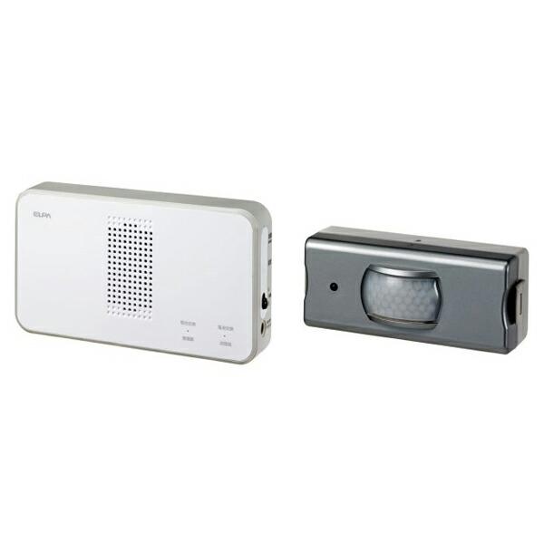 【送料無料】ELPA ワイヤレスチャイムセンサーセット EWS-S5033 防犯 セキュリティ チャイム エルパ