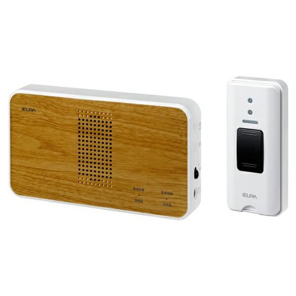 【送料無料】ELPA ワイヤレスチャイム押しボタンセット EWS-S5130 防犯 セキュリティ チャイム エルパ