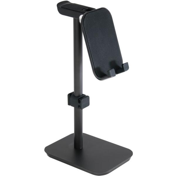 【送料無料】ミヨシ ヘッドホン・スマートフォンスタンド ブラック HST-02BK iPhone・スマホスタンド ヘッドホンスタンド