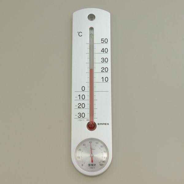 【メール便送料無料】ELPA 壁掛け式 温湿度計 OS-02 空調用品 計測器具 省エネ エルパ