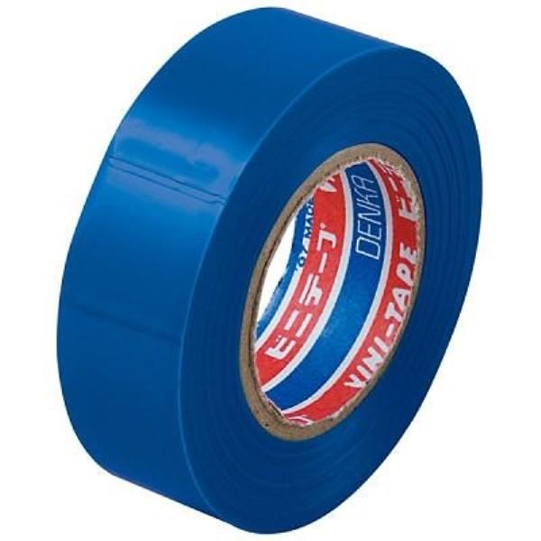 【メール便送料無料】ヤザワ ビニールテープ 1個 青/ブルー 幅19×長さ10m SF1910B 絶縁テープ 電工 DIY 園芸