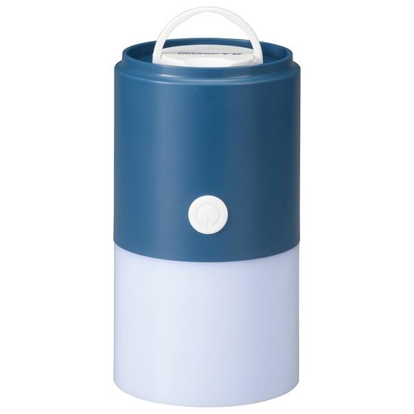 【送料無料】LEDランタン 300lm ブルー OHM 08-0835 LNP-U30A5 アウトドア キャンプ レジャー用品 非常用 防災グッズ