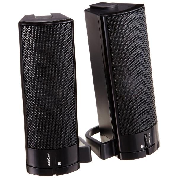 OHM USB電源ステレオスピーカー ASP-U150Z