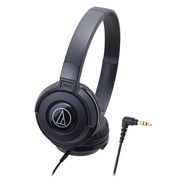オーディオテクニカ ポータブルヘッドホン ブラック ATH-S100 BK