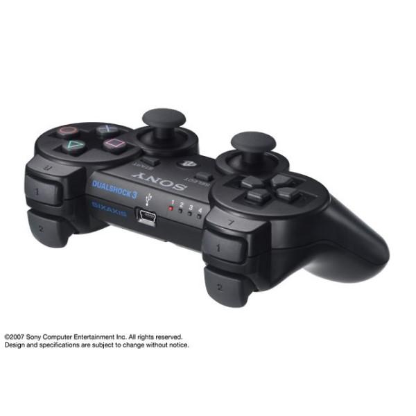 SIE プレイステーション3用ワイヤレスコントローラ DUALSHOCK 3 ブラック CECH-ZC2J