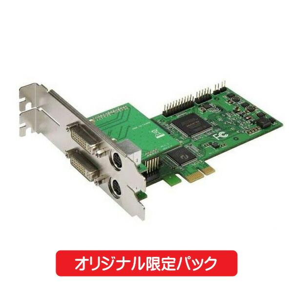 【限定パック】 マイコンソフト HD&DVIキャプチャー・ボード SC-512N1-L/DVI N HDMIケーブル付 DP3913548 【送料無料】