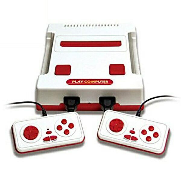 【ポイント5倍】プレイコンピューターレトロ ファミコン互換機 118ゲーム内蔵 KK-00252
