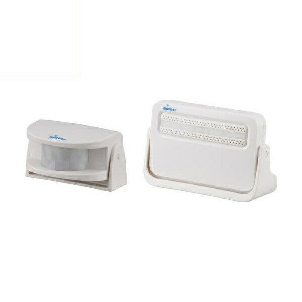 【送料無料】OHM ワイヤレスチャイムセット 赤外線人感センサー送信機+電池式受信機 monban 08-0516 OCH-M220 ドア 介護・玄関の呼び出し・受付や店内の呼び出しに 玄関 無線 チャイム 無線