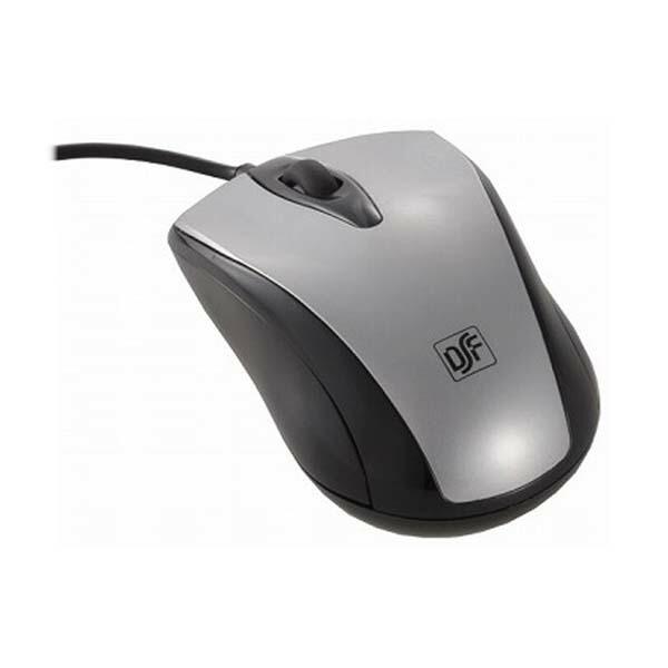 OHM 快適グリップ 光学式マウス Mサイズ シルバー PC-SMO1M-S