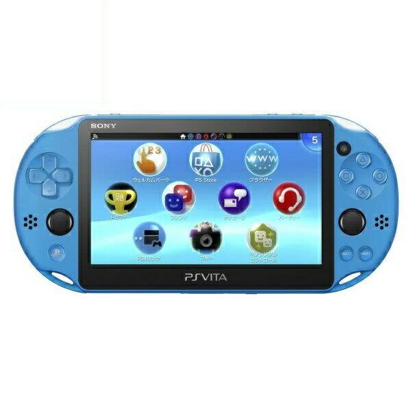 【送料無料】SIE プレイステーション Vita PSV2000 Wi-Fiモデル アクア・ブルー PS Vita/本体/新品 PCH-2000ZA23 【お一人様一台限り】