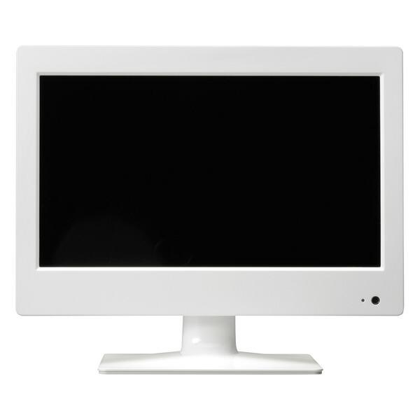 【送料無料】エスケイネット 14型 液晶ハイビジョンテレビ ホワイト SK-DTV14JWB 地デジチューナー内蔵