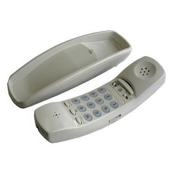 【年中無休】【送料無料】OHM インテリアテレホン オスロ 05-3100 SP-130J 有線 電話機 壁掛け対応
