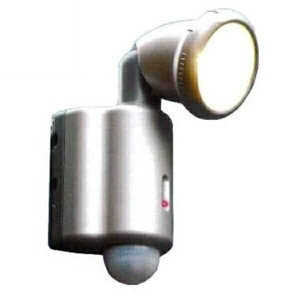 【送料無料】OHM 自動点灯 センサーライト 100W 1灯 360°感知センサー搭載 防雨仕様 07-5569 SR-100 車庫・玄関・エントランスの防犯ライト