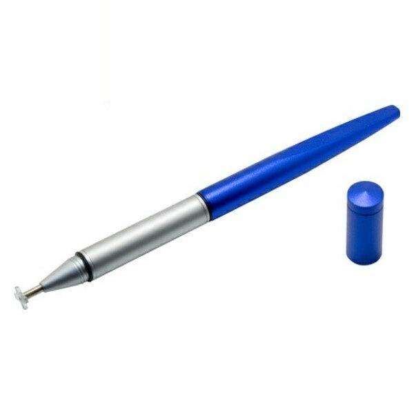 【在庫限り】【ネコポス送料無料】ミヨシ iPhone7/7 Plus/スマホ/タブレット対応 ターゲットポイントタッチペン ブルー STP-12BL