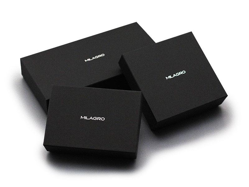 Milagro(ミラグロ) リアルカーボンF・スタンダードウォレット ea-mi-017 カーボンシリーズ化粧箱