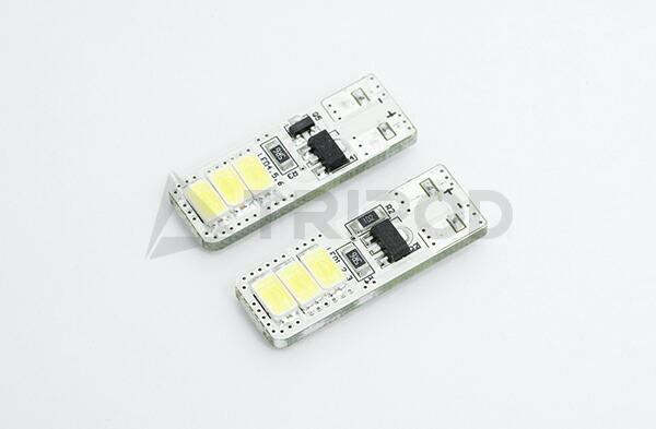 キャンセラー機能内蔵T10 LEDバルブ