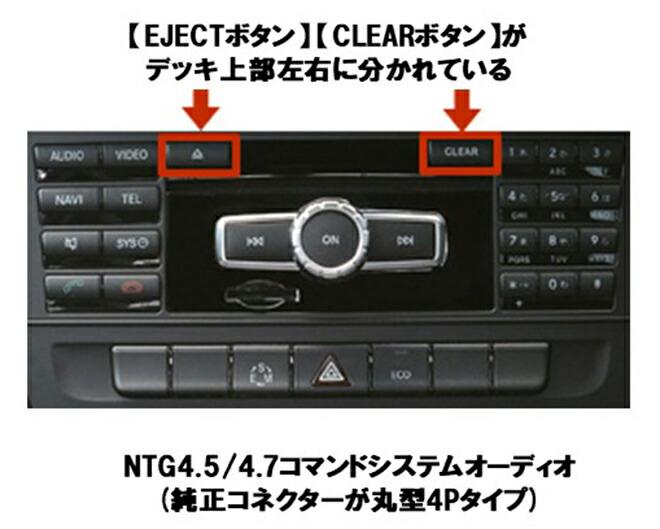 メルセデス・ベンツ MERCEDES-BENZ AVインターフェース NTG5.5