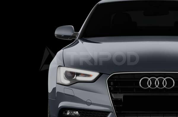 【SM-ITDRL7】コーディングなしdeDRL AUDI A5/A4用 ヘッドライト内のポジションライトをデイライト化するキット