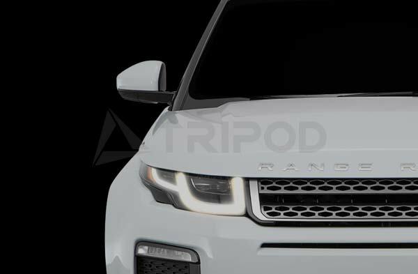 【SM-ITDRL16】RANGEROVER EVOQUE 2016 コーディングなしdeDRL ヘッドライト内のポジションライトをデイライト化するキット