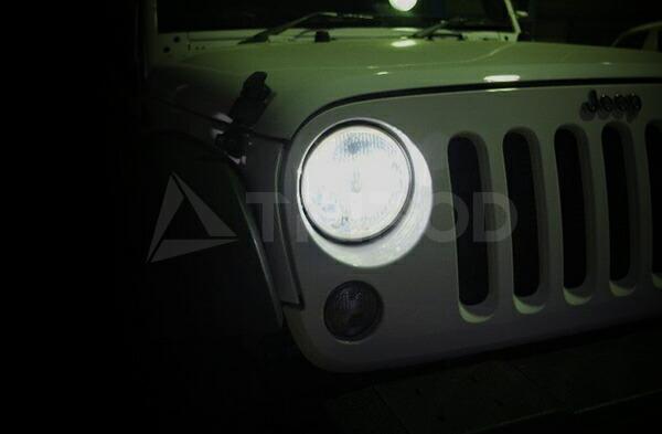 JEEP/ジープ ラングラー専用キャンセラー内蔵  LED HEAD LIGHT KIT