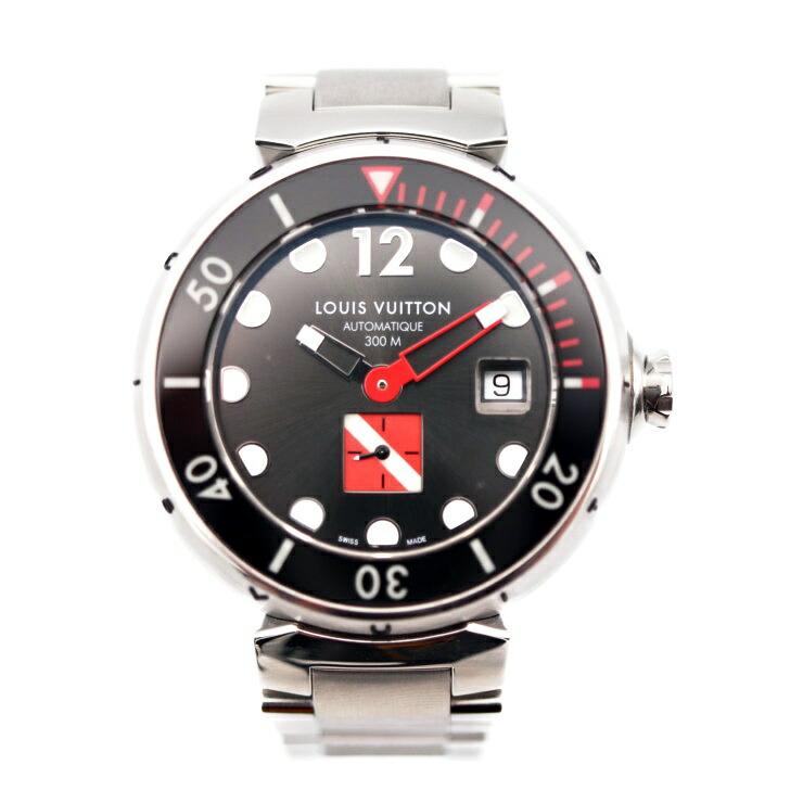 LOUIS VUITTON ルイヴィトン Q103A タンブール オートマティック DIVING ダイビング SS 自動巻 メンズ腕時計