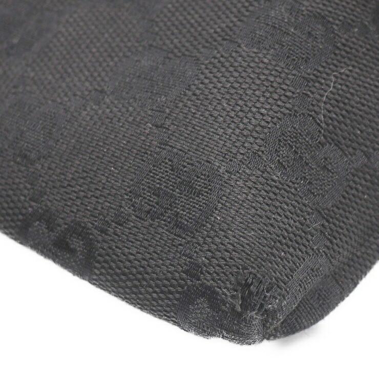 c0a9377f2219c4 Gucci waist bag waist pouch 28566 002058 GG canvas leather black | eBay