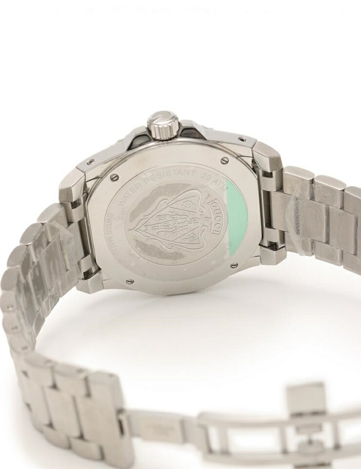 f951086f836 Gucci Dive Extra Large Watch 136.2 Mens Quartz Stainless Steel ...