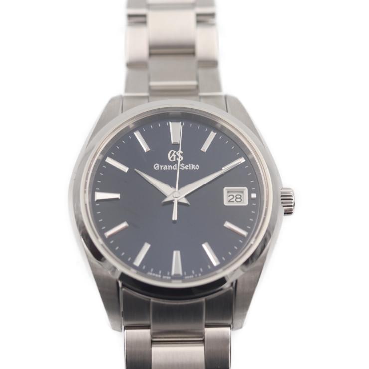 SEIKO セイコー グランドセイコー ヘリテージコレクション SBGP013 腕時計 ステンレススチール ブルー文字盤 シルバー