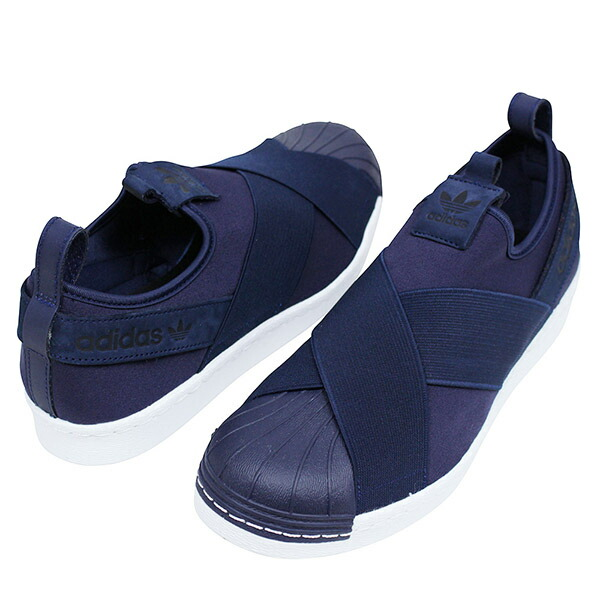3rd dimension store: 供adidas愛迪達SUPER STAR SLIP-ON人運動鞋NAVY