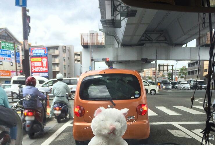 車が多い場所