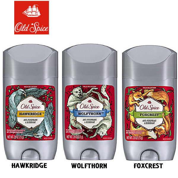 •Old Spice Invisible Spray Anti-Perspirant and Deodorant gives you long-lasting sweat protection •Wolfthorn is the sort of sophisticated wolf who wears a suit that has a suave, sweet, orange scent.