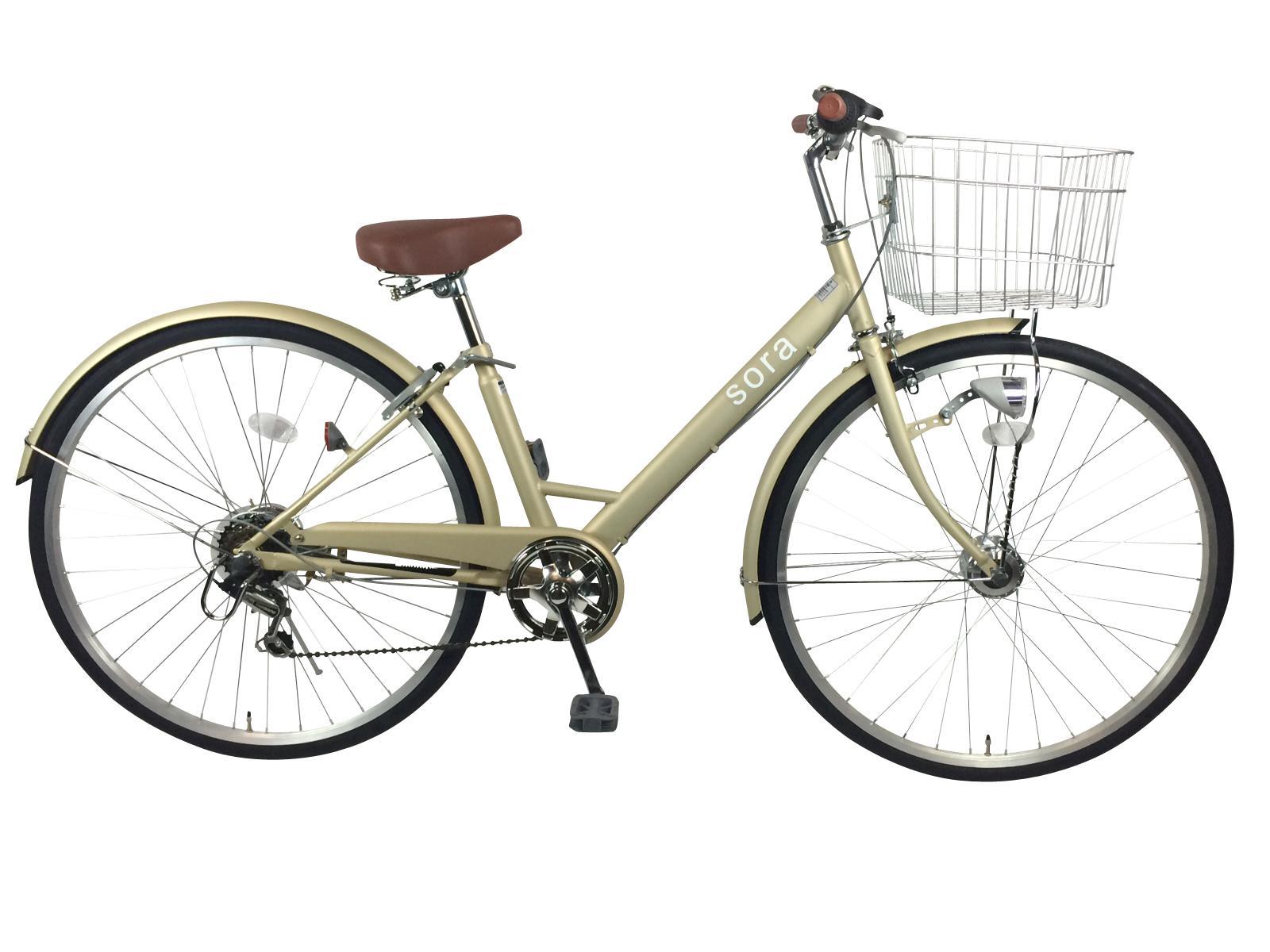 クリーム自転車
