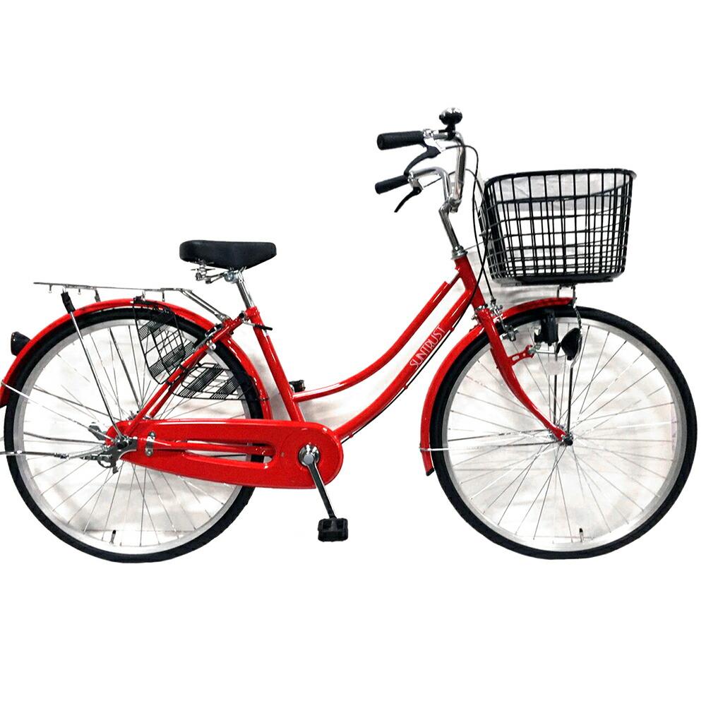 赤色自転車