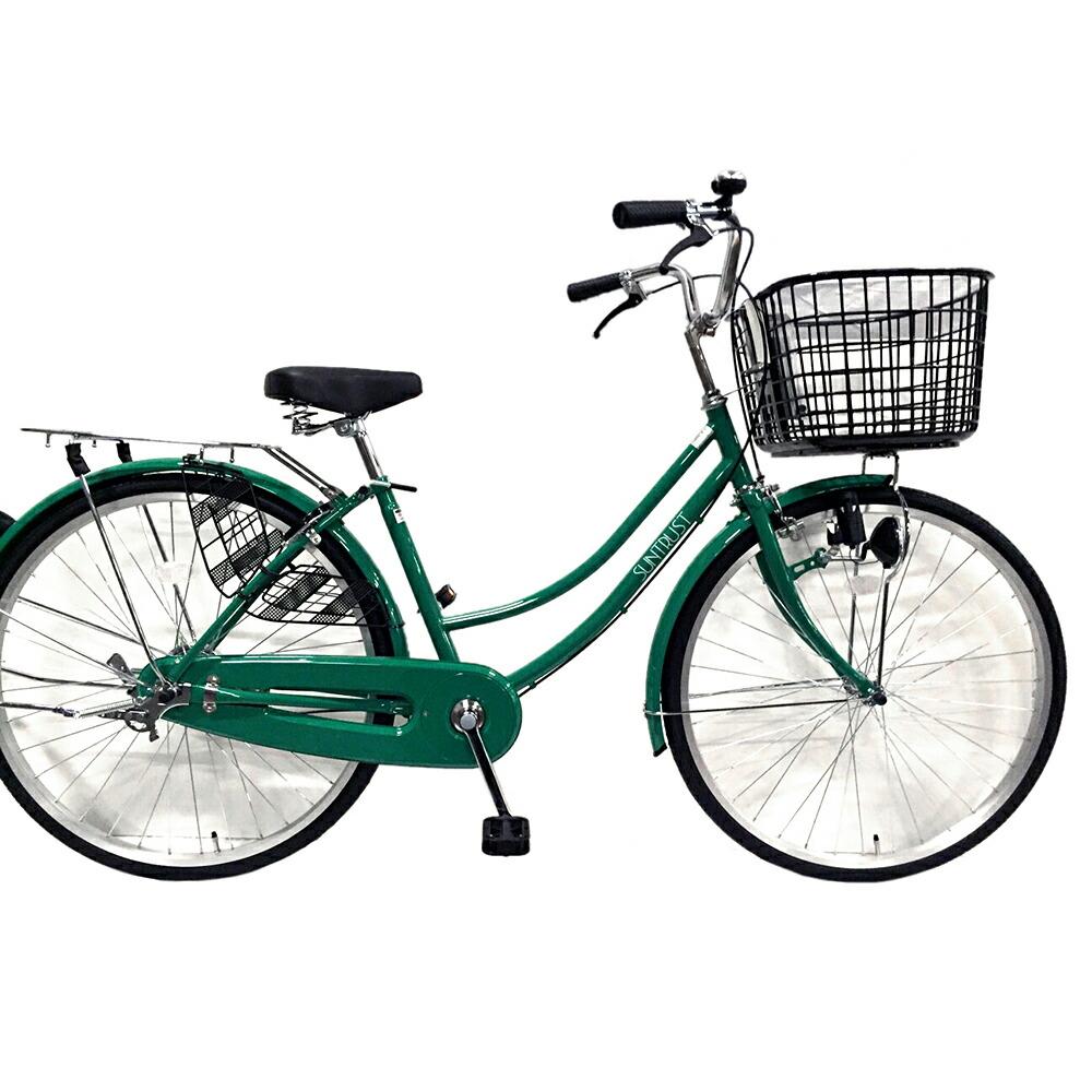 緑色自転車