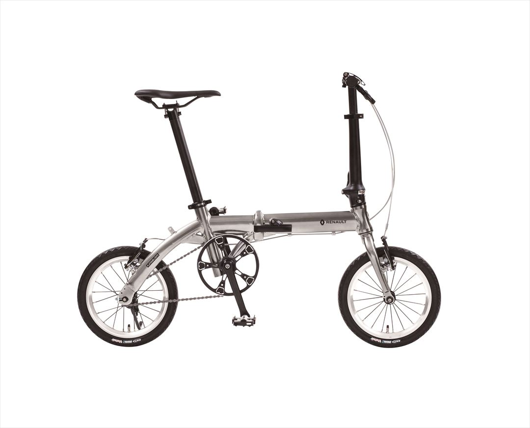 2018年モデル自転車 ルノー RENAULT 自転車 折りたたみ自転車 PLATINUM LIGHT6 AL-FDB140 14インチ 軽量 ギアなし 折りたたみ自転車 ルノー PLATINUM LIGHT6 AL-FDB140 ライトシックス
