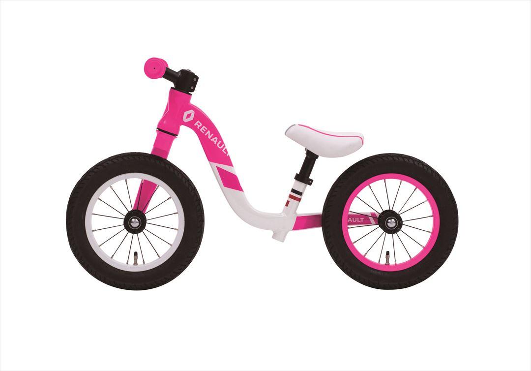 【最大21倍!エントリで! 楽天スーパーSALE】送料無料 ルノーウルトラライト トレーニングバイク トレーニー 2.5~5歳 RENAULT ULTRA LIGHT TRAINEE 自転車 子供用 ピンク 12インチ キックバイクキッズ 自転車 ジュニア