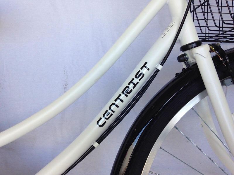 セントリスト 白 自転車 centrist