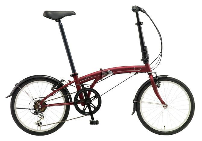 折りたたみ自転車 DAHON SUV D6 ダホン 自転車 20インチ 折りたたみ自転車 外装6段変速ギアダホン 折りたたみ自転車 DAHON エスユーヴィー D6 18DAHON SUV-Mat Wine マットワイン