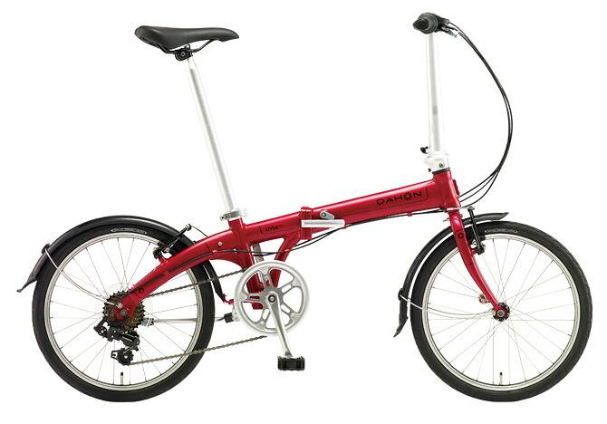 折りたたみ自転車 DAHON Vybe D7 ダホン 自転車 20インチ 折りたたみ自転車 外装7段変速ギア ダホン 折りたたみ自転車 DAHON ヴァイブ D7 2018年モデル Vybe Dark Cherry レッド 赤