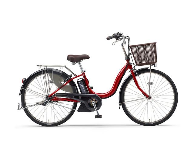 電動自転車 ヤマハ YAMAHA ナチュラXL-DX24 X0TE01-0273 24インチ レッド 赤 電動アシスト自転車 格安 激安 電動ママチャリ 軽量 子供乗せ設置可
