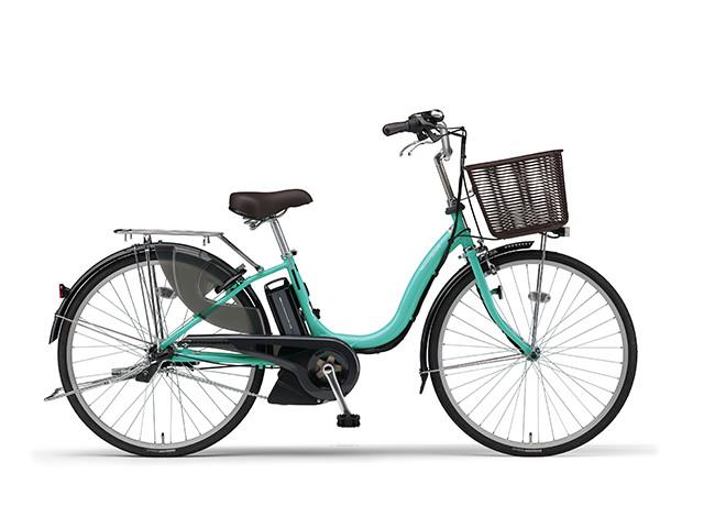 電動自転車 ヤマハ YAMAHA ナチュラM26 X0TF01-0241 26インチ ターコイズ 青 電動アシスト自転車 格安 激安 電動ママチャリ 軽量 子供乗せ設置可