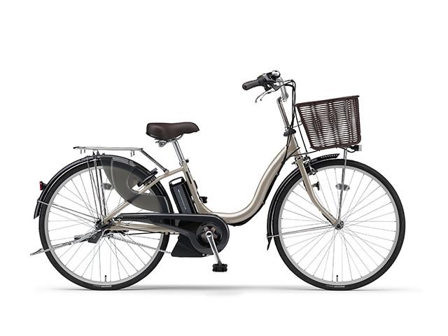 電動自転車 ヤマハ YAMAHA ナチュラM26 X0TF01-0241 26インチ ゴールド 電動アシスト自転車 格安 激安 電動ママチャリ 軽量 子供乗せ設置可