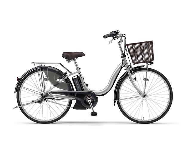電動自転車 ヤマハ YAMAHA ナチュラM24 X0TG01-0241 24インチ シルバー 電動アシスト自転車 格安 激安 電動ママチャリ 軽量 子供乗せ設置可